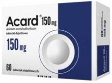 ACARD 150mg x 60 tabletek