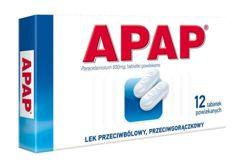 APAP 0,5 x 12 tabletek