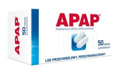 APAP 0,5 x 50 tabletek