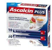ASCALCIN Plus x 10 sasz. grejpfrutowy - data ważności 31-10-2015r.