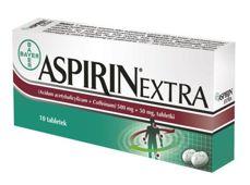 ASPIRIN EXTRA 500mg + 50mg x 10 tabletek