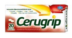 CERUGRIP x 20 tabletek powlekanych