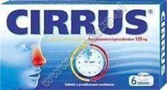 CIRRUS x 6 tabletek
