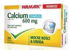 Calcium Complex 600mg x 30 tabletek powlekanych