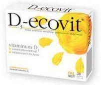 D3-ECOVIT x 30 kapsułek twist-off