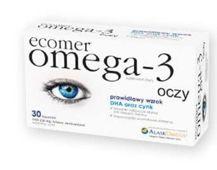 ECOMER OMEGA-3 OCZY x 30 kapsułek
