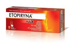 ETOPIRYNA MAX x 9 tabletek musujących