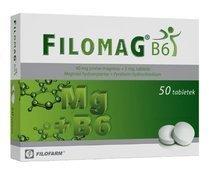 FILOMAG B6 x 50 tabletek