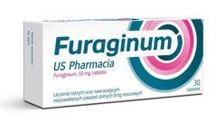 Furaginum US Pharmacia 50mg x 30 tabletek
