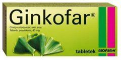 GINKOFAR x 20 tabletek