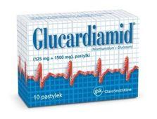GLUCARDIAMID x 10 tabl. do ssania