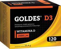Goldes D3 2000 j.m x 120 tabletek