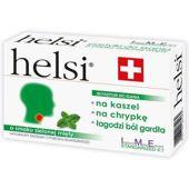 Helsi o smaku zielonej mięty x 30 pastylek do ssania