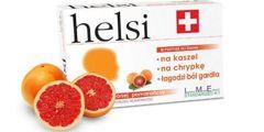 Helsi pastylki do ssania o smaku czerwonej pomarańczy x 30 sztuk