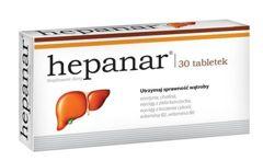 Hepanar x 30 tabletek