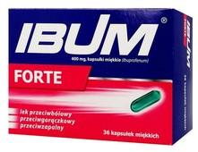 IBUM FORTE x 36 tabletki