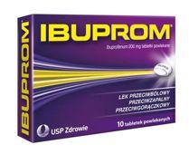 IBUPROM x 10 tabletek