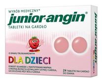 JUNIOR-Angin x 24 tabletki do ssania