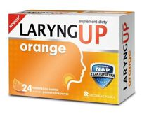 LARYNG UP Orange x 24 tabletki do ssania