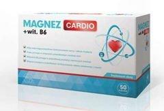 Magnez CARDIO + wit. B6 x 50 kapsułek