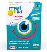 Meltiki Żelazo x 60 tabletek do ssania