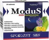 Modus Spokojny sen melatonina x 30 tabletek