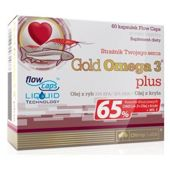 OLIMP Gold Omega 3 Plus 500mg x 60 kapsułek