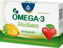 OMEGA-3 ROŚLINNE x 60 kapsułek