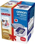 OMRON M2 Basic Ciśnieniomierz + Poradnik z dzienniczkiem pomiaru ciśnienia na cały rok