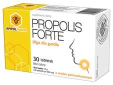 PROPOLIS FORTE x 30 tabletek o smaku pomarańczowym