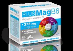 PlusMag B6 x 60 tabletek
