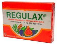 REGULAX x 6 pastylek