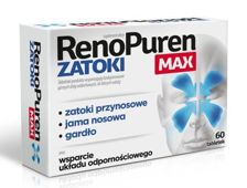 RENOPUREN ZATOKI x 60 tabletek