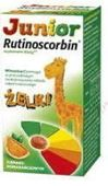 RUTINOSCORBIN Junior x 50 żelek smak pomarańczowy