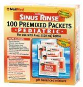 SINUS RINSE Pediatric Kit Zestaw Uzupełniający dla dzieci 120 saszetek
