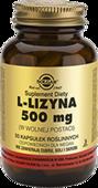 SOLGAR L-Lizyna 500mg x 50 kapsułek
