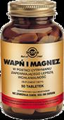 SOLGAR Wapń i Magnez w postaci cytrynianu x 50 tabletek