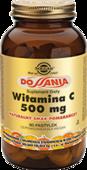 SOLGAR Witamina C 500mg smak pomarańczowy x 90 pastylek do ssania