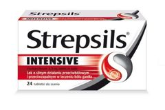 STREPSILS Intensiv x 24 tabletki do ssania