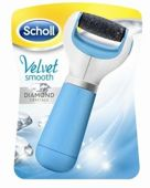 Scholl Velvet Smooth elektroniczny pilnik do stóp x 1 sztuka + Ręcznik plażowy Scholl GRATIS!