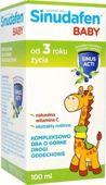 Sinudafen baby syrop dla dzieci 100ml - data ważności 31-03-2016r.