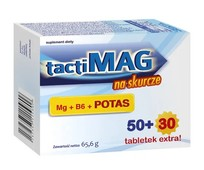 TACTIMAG NA SKURCZE x 50+30 tabletek