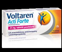 VOLTAREN ACTI Forte 25mg x 10 tabletek