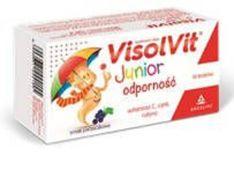 Visolvit Junior odporność smak porzeczkowy x 10 lizaków