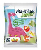Vita-miner Junior Żelki o smaku owocowym x 50 sztuk