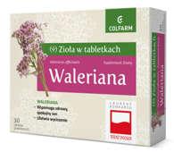 Waleriana x 30 tabletek