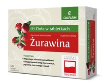 ŻURAWINA x 60 tabletek