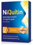 NIQUITIN 2 - plastry 14mg/24h
