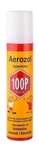 100P Aerozol zapachowy komary, kleszcze, meszki 75ml