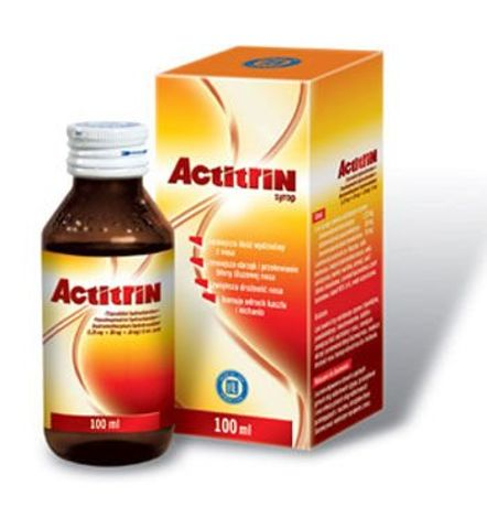 ACTITRIN syrop 100ml